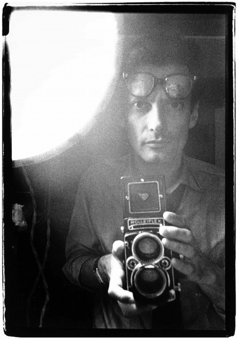 Richard Avedon, self-portrait, New York, ca 1963